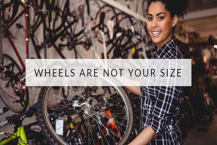 bike wheels size